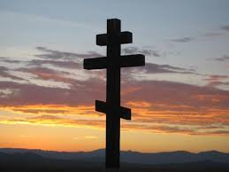 Russian Cross Sunset